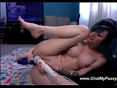 Emo Girl Masturbating Her Emo Pussy On Webcam - www.chatmypussy.com