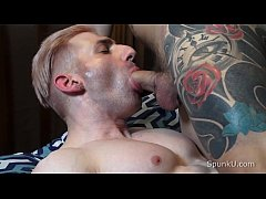 Tatted Trevor Stone Slams Sir Jet's Muscle Ass