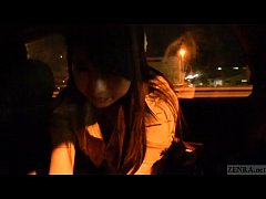 Japanese ghost hunters covert blowjob in car Subtitled