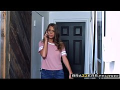 Brazzers - Teens Like It Big - Babysitter Caught In The Action scene starring Jill Kassidy and Keira