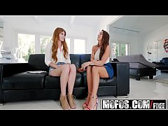 Mofos - Girls Gone Pink - (Abigail Mac, Miley Cole) - Lesbian Roommate Interview