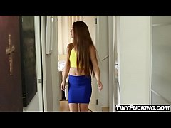 Petite redhead cheats on her boyfriend while he...