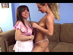 schoolgirl and mature mommy