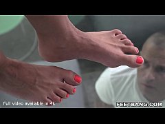 Hungarian MILF Tiffany Rousso Enjoys Foot Fetish