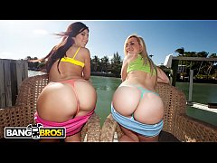 BANGBROS - A Team Of Lesbian PAWGs Make Our Day On AssParade.com!