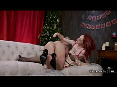 Redhead slave anal fucked and fisted