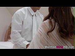 Teen mormon ass spermed