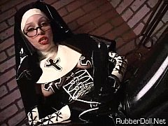Latex Nun Dominatrix - POV