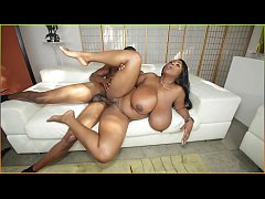 bangbros - maseratti plays with her giant natural breasts and gets fucked hard