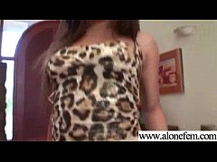 Hot Cute Sexy Amateur Girl Insert Toys In Her H...