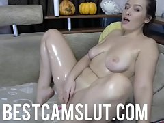 Girl next door masturbates on cam - bestcamslut.com