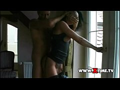 Hooded and buggered girl by Rocco Siffredi dick