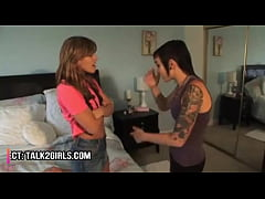 Lesbian Step Sisters Older Punk Rock Girl Forces Young Blonde Teen