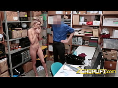 Emma Hix is coerced by horny officer into taking his hard cock