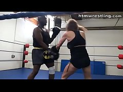 Interracial Boxing Spar