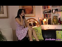 British babe eats cougar