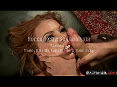 Harsh Blowjobs and Racy Ass 2 Mouth Orgy in Performed By 2 Studs Rocco Siffredi n James Deen with 3 Naughty Babes Maddy O'Reilly, Kelly Stafford, Dahlia Sky
