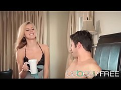 (Jessie Rogers, Giovanni Francesco) - Skinny blonde makes a sex tape - BABES
