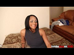 dimples gets fucked hard by 2 big black dicks