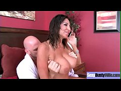 Sex Tape Action With Busty Horny Sluty Housewife (Tara Holiday) video-27