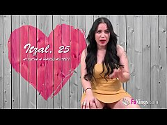 Blind public date between Itzal's BIG TITS and the bullfighter Jesulin