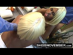 HD Fucking African American Pussy Hard From Behind Doggystyle Sex For Repair Bill Payment, Cute Little Blonde Girl Sheisnovember