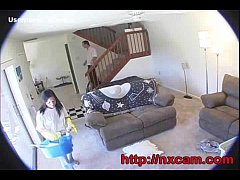 Hidden Cam Captures Maid And Wife In Secret Lesbian Affair