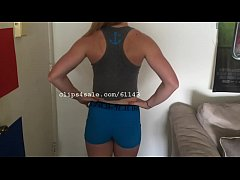 Muscular Women - Jessika Flexing Part2 Video2