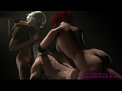 The Witcher 3 Request futa on Male