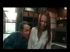 Busty Japanese Milf fucked Hard by old man 02