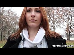 Redhead Czech girl Alice March gets banged for ...