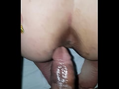 Savage Bbc To Big for Anal so i Nutted in her While her BaBY gIrL CrYing.