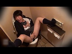 crazy Japanese chick masterbating