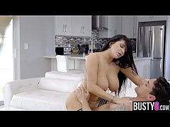 Huge boobs MILF pornstar Romi Rain titty and pussy fuck