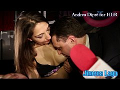 Jimena Lago masturbates herself with a lollipop for Andrea Diprè