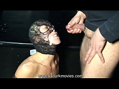 Danish Nasty Angel in gangbang and bukkake fun