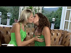 Slurping Sweeties Brandy and Dominika from Sapphic Erotica go down on each other