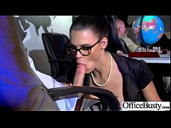 Office Sex Tape With Naughty Lovely Bigtits Girl movie-27