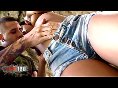 HD Hot Big Butt Black Babe Noe Milk gets fucked in a cave