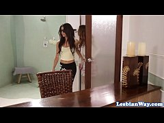 Blind les Veronica Rodriguez pussylicked