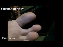 Mistress Alace Amory Foot and fet Compilation