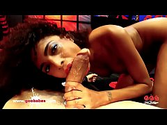 Brazilian Ebony Babe Luna Corazon Fucked hard - German Goo Girls