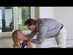 Stepdaughter Iggy Amore Gets Nailed Roughly by Stepdad