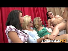 Brandi Belle and Friends Measure Cock Before Fucking