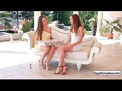 Sapphic Erotica Lesbians Free movie from www.SapphicLesbos.com 12