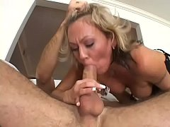 Hot lady Chennin Blanc gets fucked in her asshole by big white cock