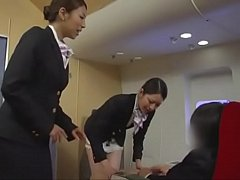 Airline Handjob Training