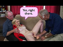 HD BLUE PILL MEN - Young Stacie Gets Schooled By Three Horny Old Men