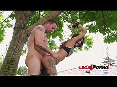Flexible BDSM slut Roxy Lips gets Cuffed, Stuffed & Fucked Hardcore GP039