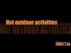 Hot outdoor activities